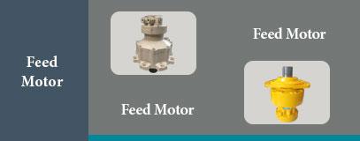 Feed motor