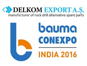 Bauma Conexpo India 2016